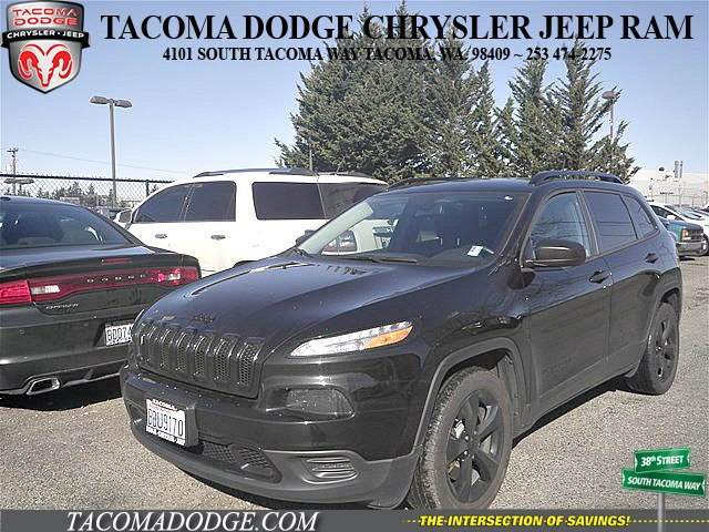 Certified Pre Owned 2017 Jeep Cherokee Sport